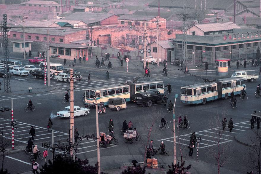 Street Of Xuanwu Gate, Beijing, 1985