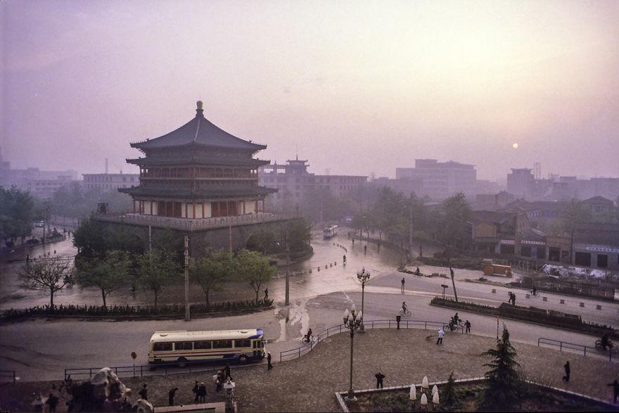 Bell Tower, Xi'an, 1984
