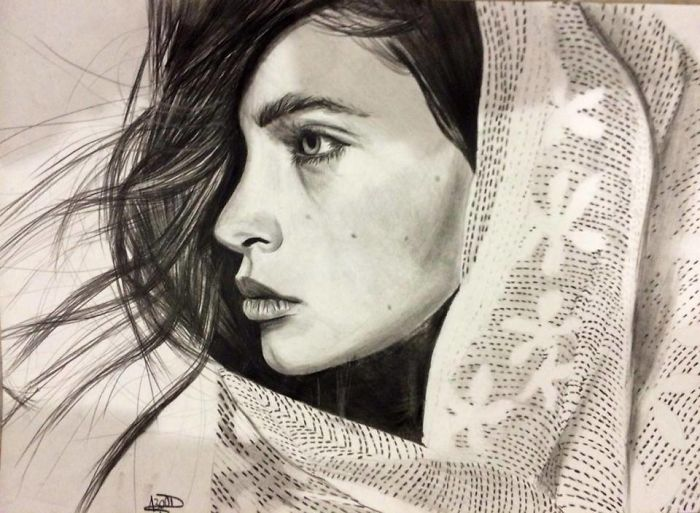 I Create Realistic Portraits