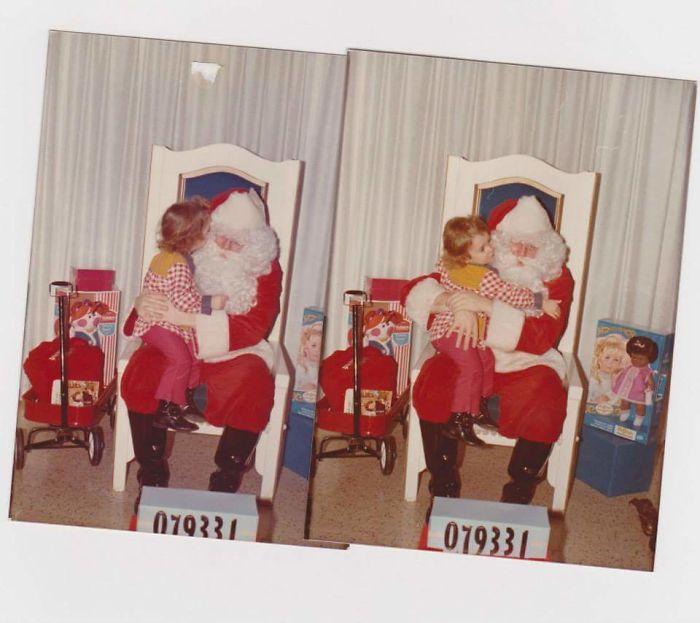 Me & Santa, Dayton Ohio 1971 Or 72
