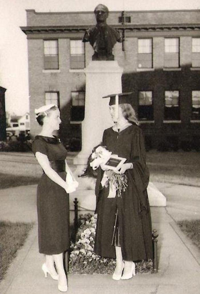 Graduation 1957. Nashua Nh