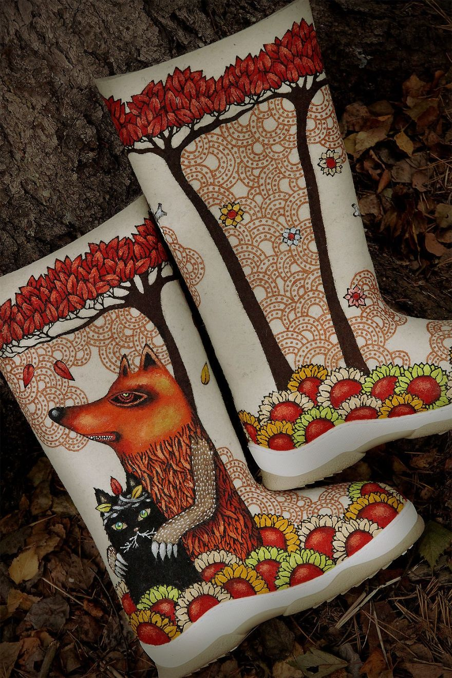 15 Warming Felt Boots, Or Ethical Uniqueness Of Valenki By Miloslava
