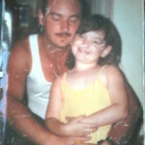A Girl (me) With Her Daddy, Somewhere Between 1995-1997