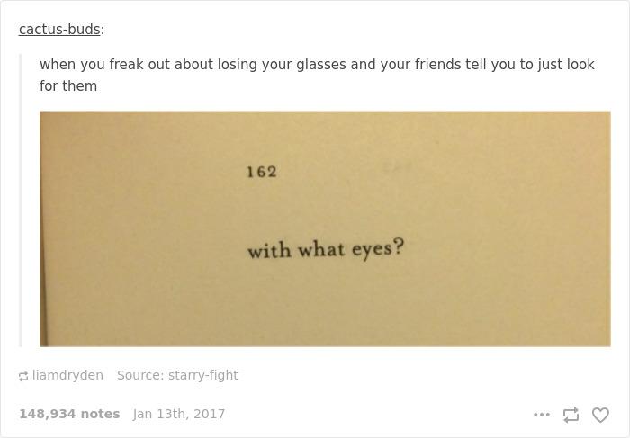 Glasses Problems