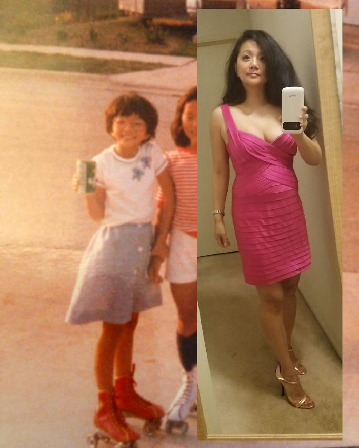 Me At 10 Vs 41. High School Was Rough. Hang In There