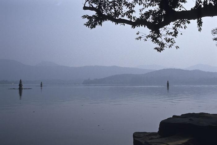 """Three Ponds Mirroring The Moon"", West Lake, Hangzhou, 1984"