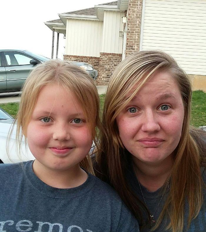 Found My Dopplenganger!! She Was A Random Neighbor Kid!! :)