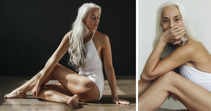 d811ad894 61-Year-Old Model Absolutely Rocks Her Swimsuit Campaign