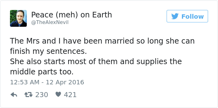 Funniest Marriage Tweets 2016