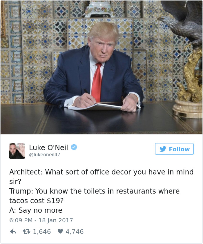 Trump Inauguration Speech Reactions