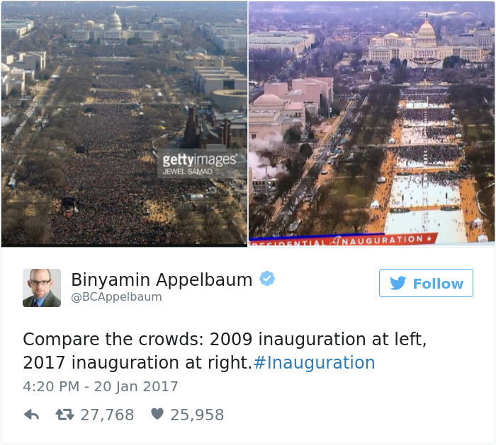 10+ Of The Best Tweets About President Donald Trump's Inauguration