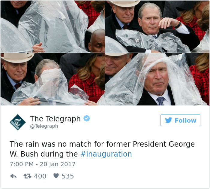 LOL, 14 Of The Best Tweets About President Donald Trump's Inauguration