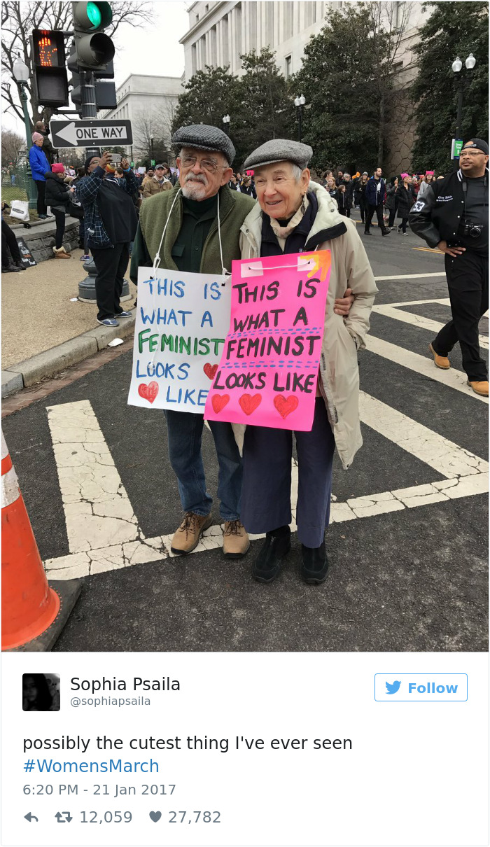 Women's March Signs