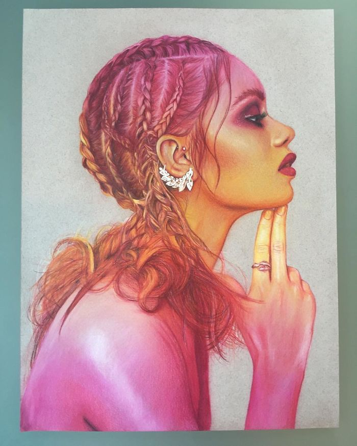Beautiful Color Pencil Drawings By Jenifer De Boer