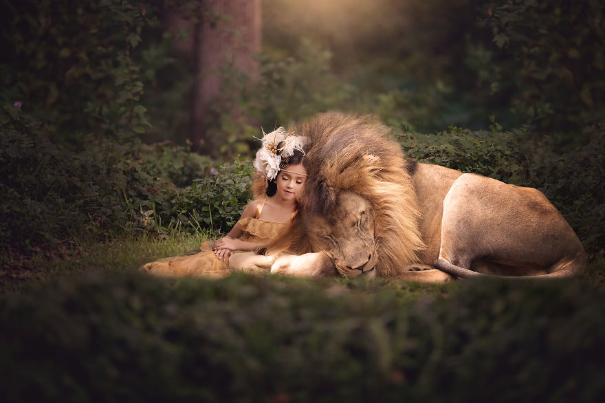 Fine Art Portrait Photographer Creates Magical Images Of Children