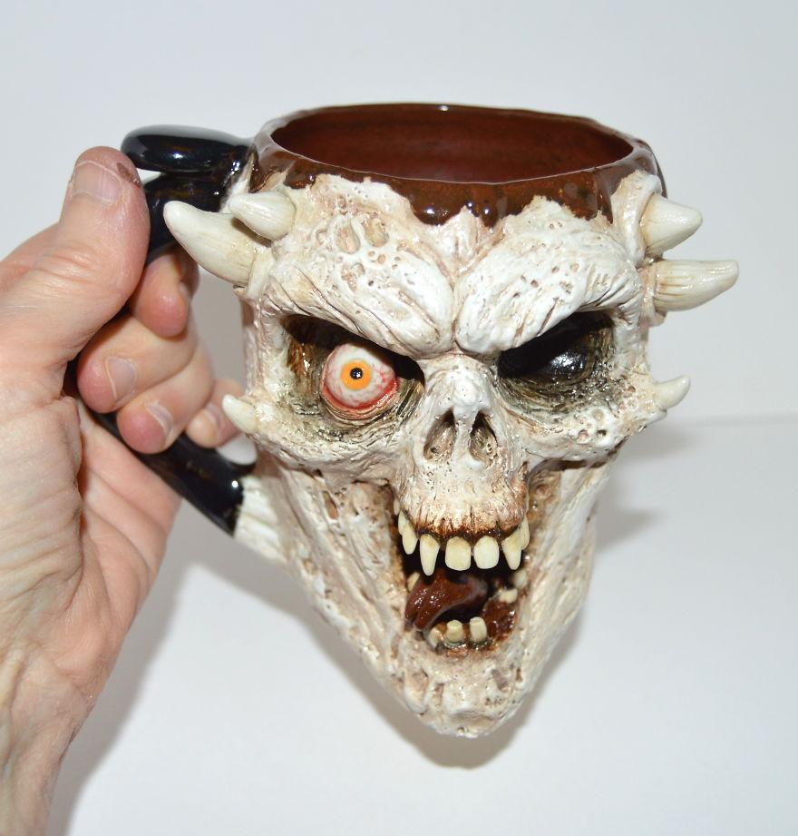 Laughing Skull Mug