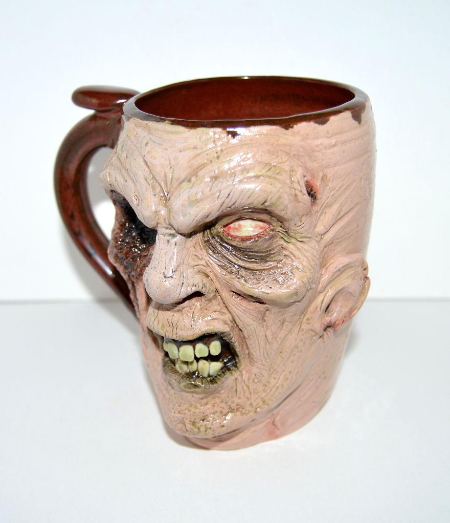 One Eyed Zombie Mug