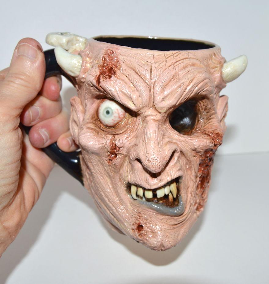 Zombie Demon Mug