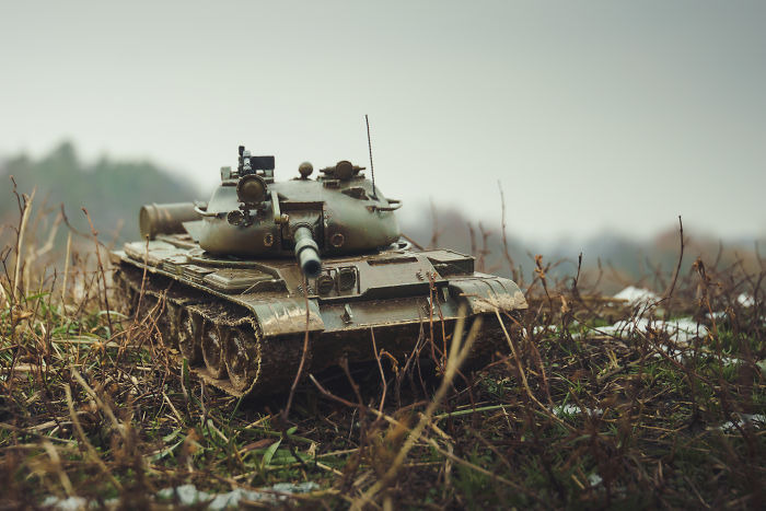 395 Hours Spent On 3D Printing And Painting A T-62 Tank Replica
