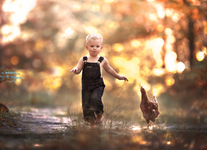 Photographer Creates Magical Images Of Her Three Children.