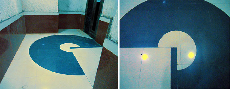 Gulp! It's Pac Man! Floor Tiles Fail