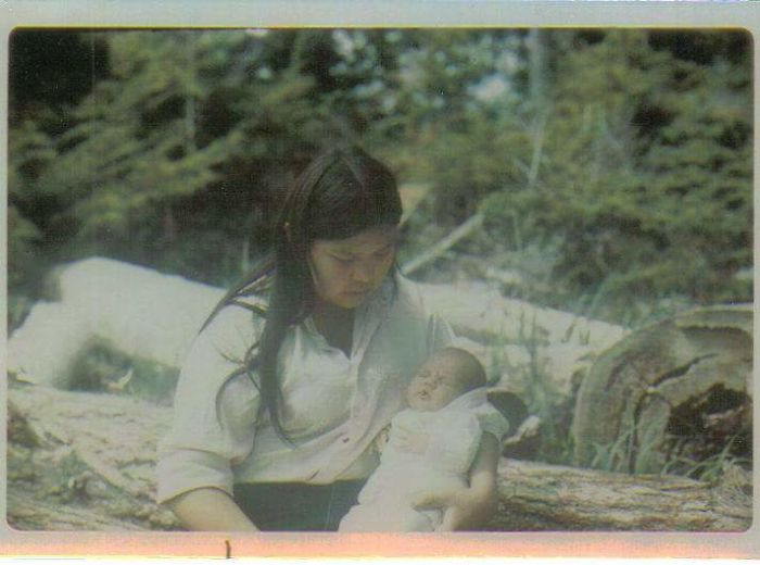 Mother And I 1972 Salt Lakes Bc
