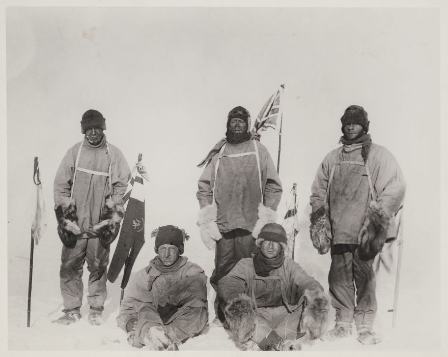 The Five At The South Pole