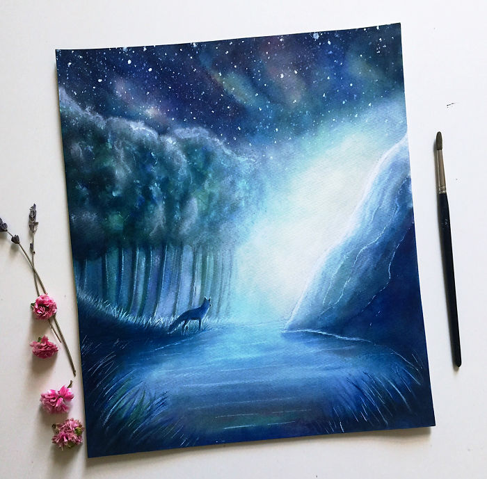 I Love To Paint Imaginary Worlds