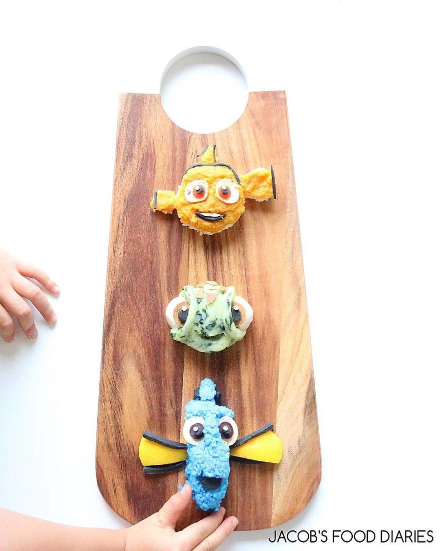 Nemo, Squirt & Dory from FIinding Nemo
