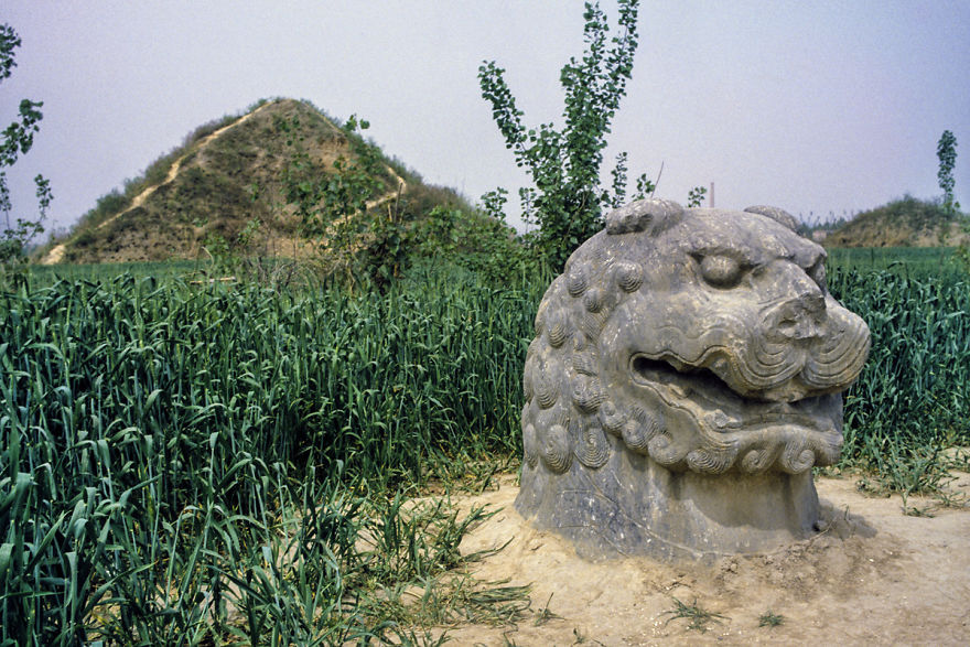 Imperial Tombs Of Song Dynasty, Gong County, 1984