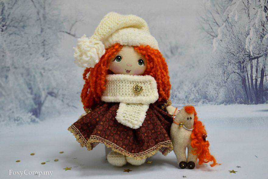 Handmade Dolls And Toys By Russian Artist Team