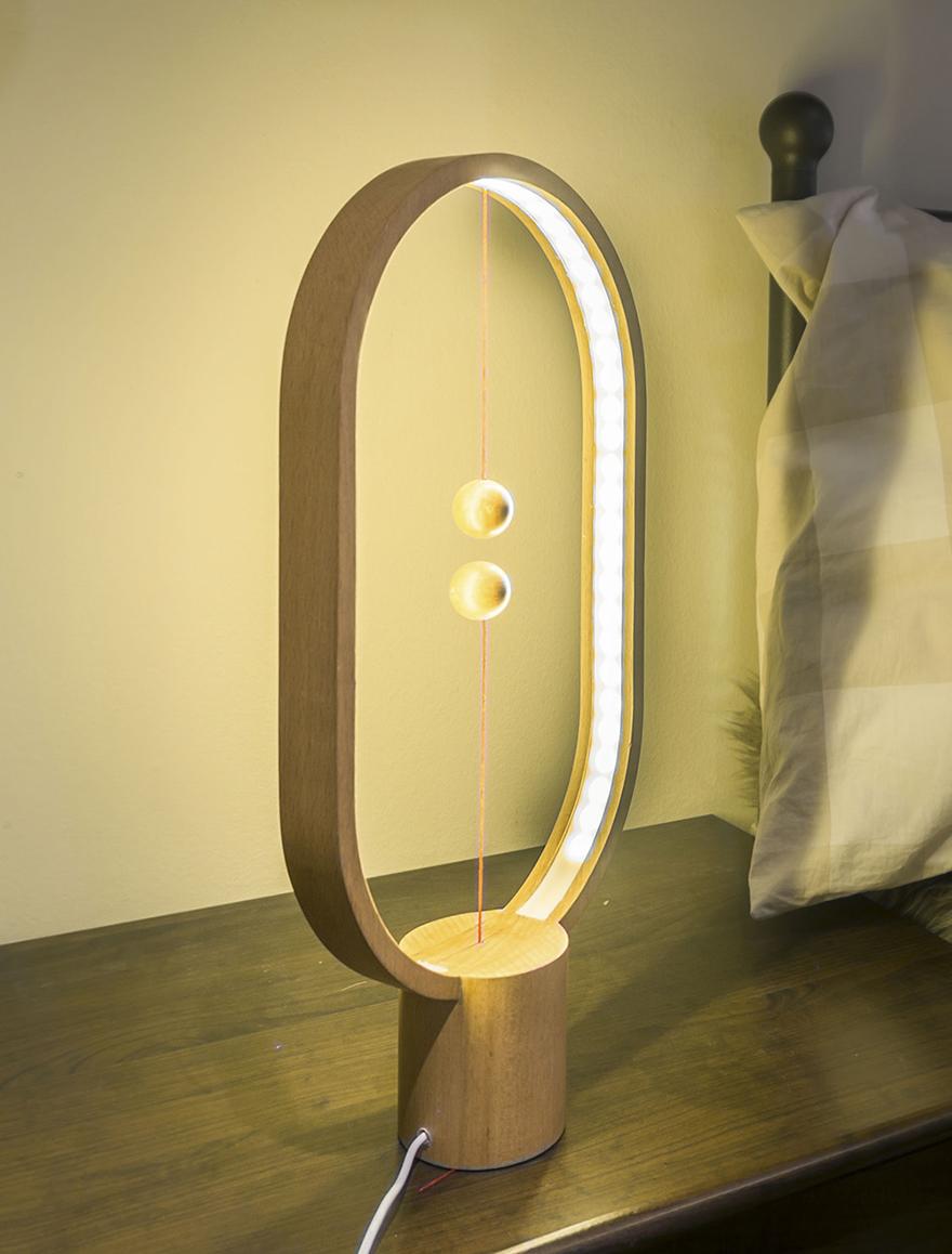 This Lamp Has A Levitating Switch | Bored Panda