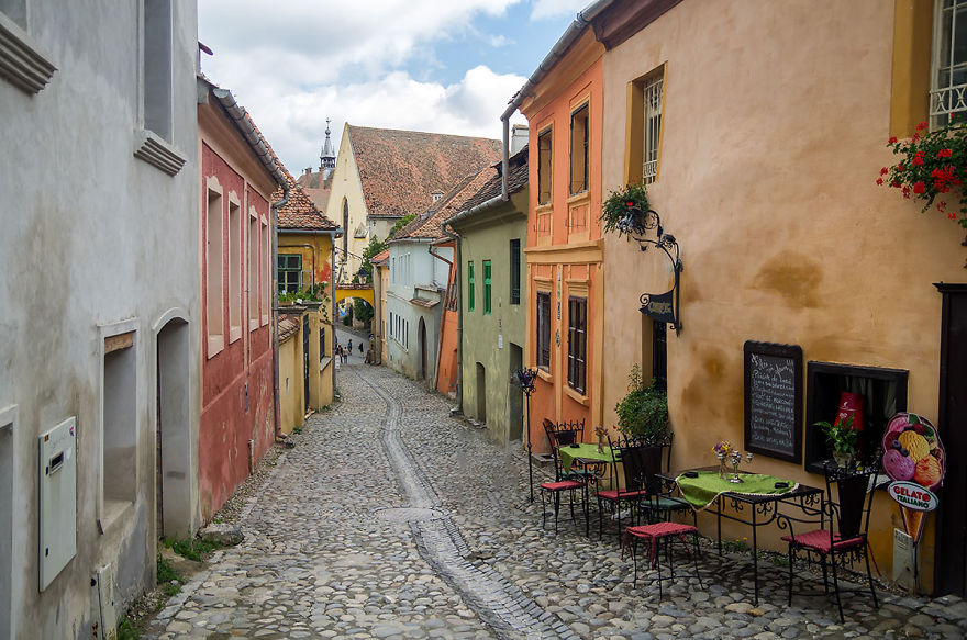 Does It Look Like A Street From Italy? Maybe. But It's In Romania