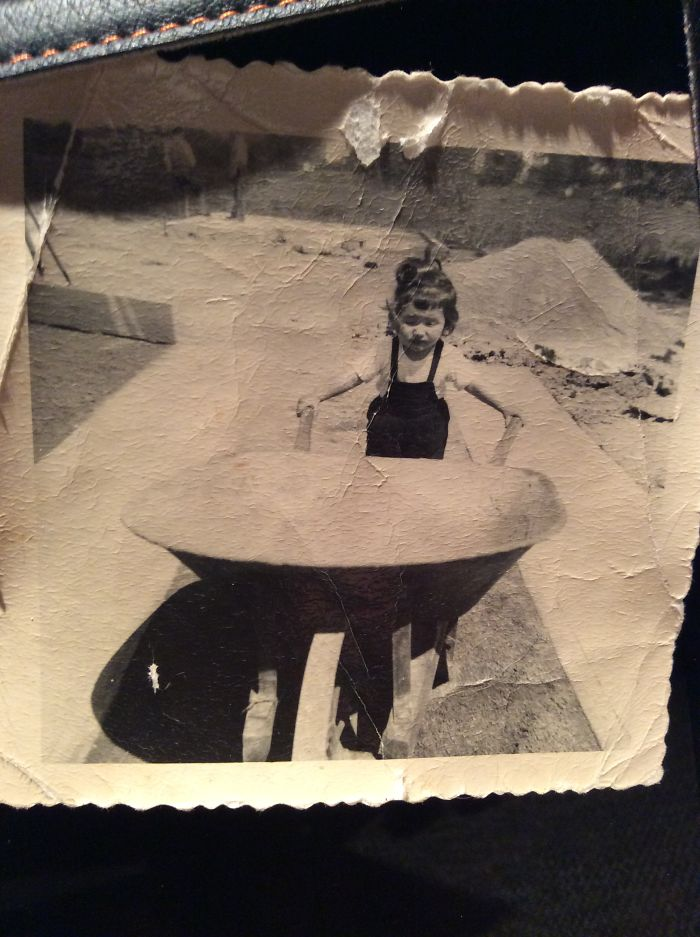 Guess I Was Meant To Love Home Remodeling And Construction Industry .. Me In 1951 Helping My Dad With New Garage !!