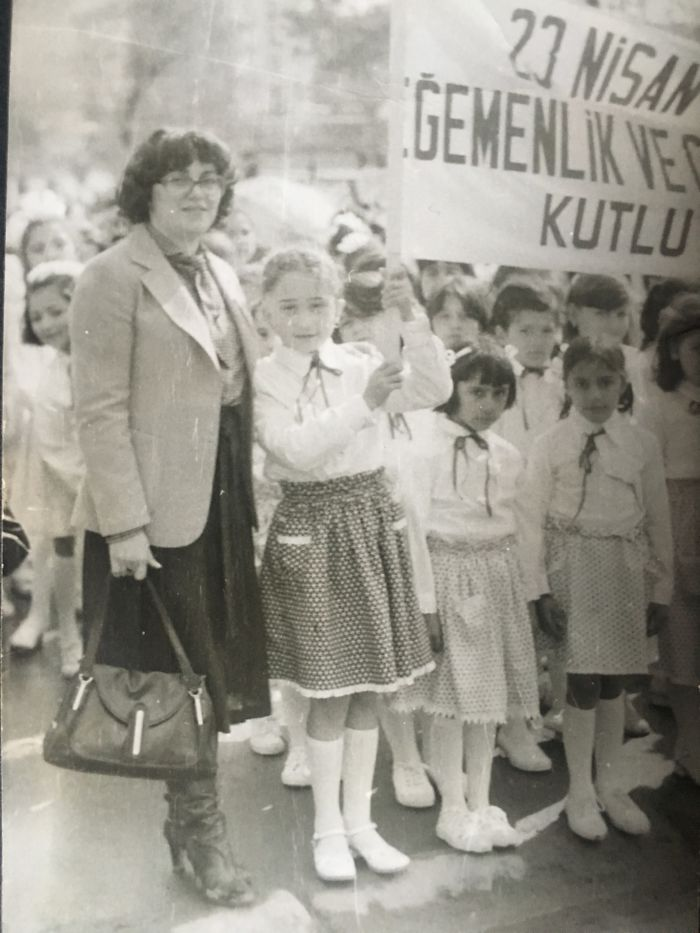 Young Students Celebrating The National Sovereignty And Childr