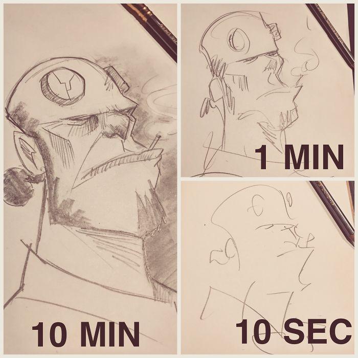 Hellboy Sketches!