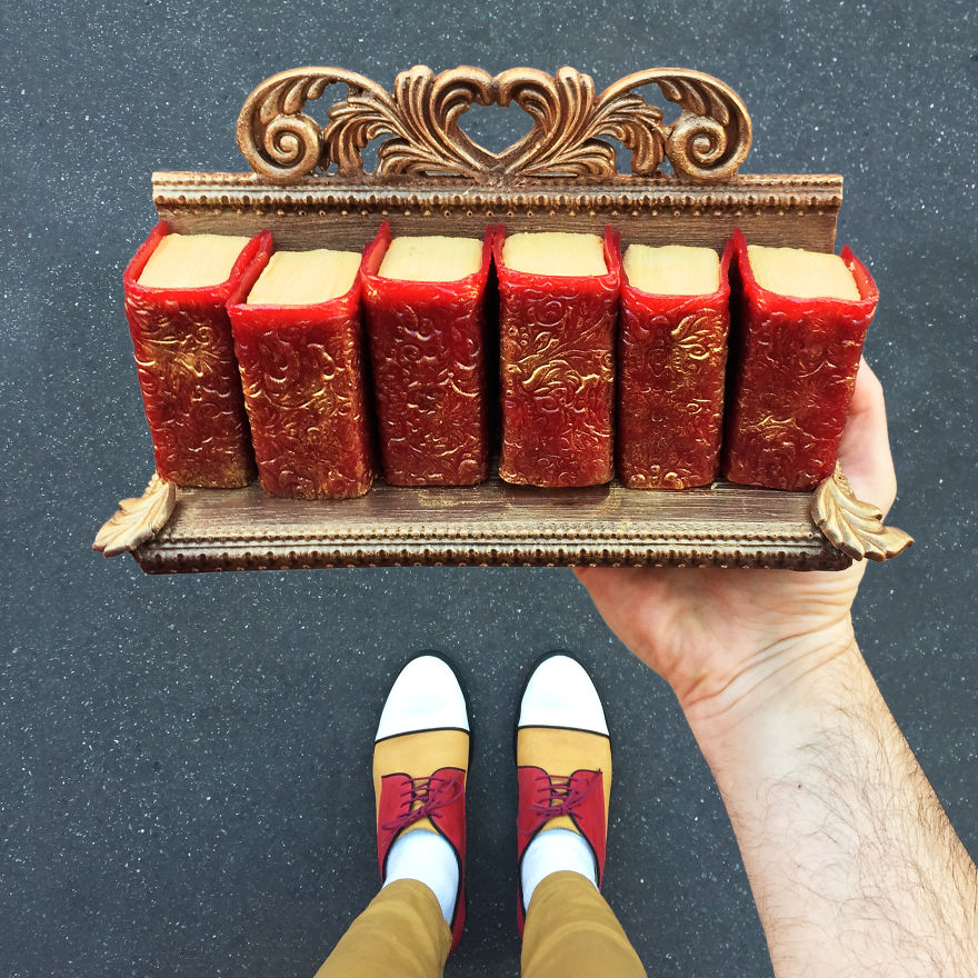 Paris Craziest Desserts for the season matched with men shoes