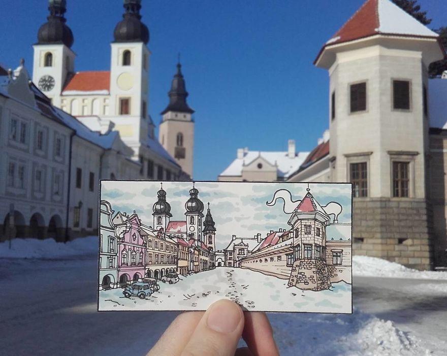 Teltsch, Czech Republic