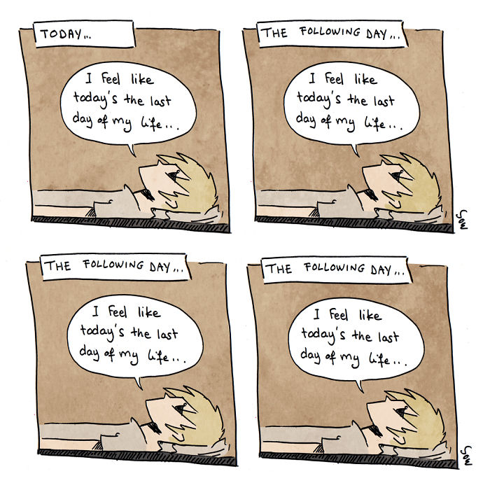 Anxiety And Depression Comics