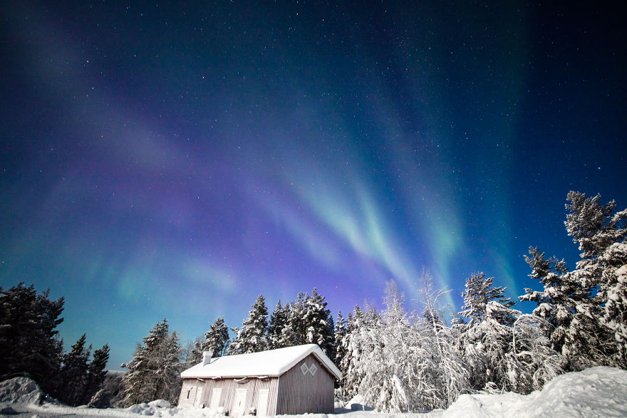 Beautiful Winter Lights Of Finland That I Captured During My 3-Month