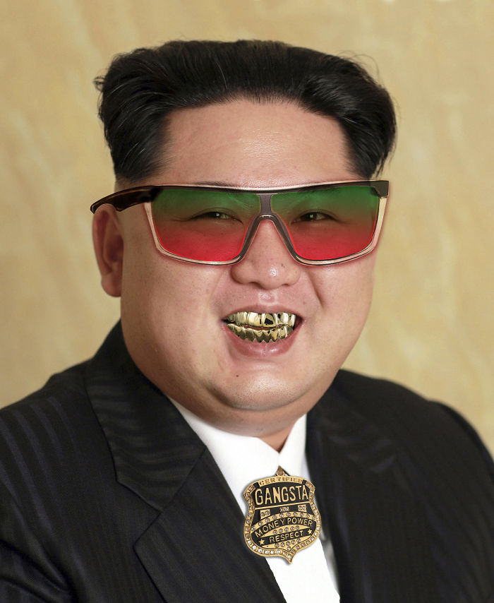 Found A Photo Of Kim Jong Un On This Site.