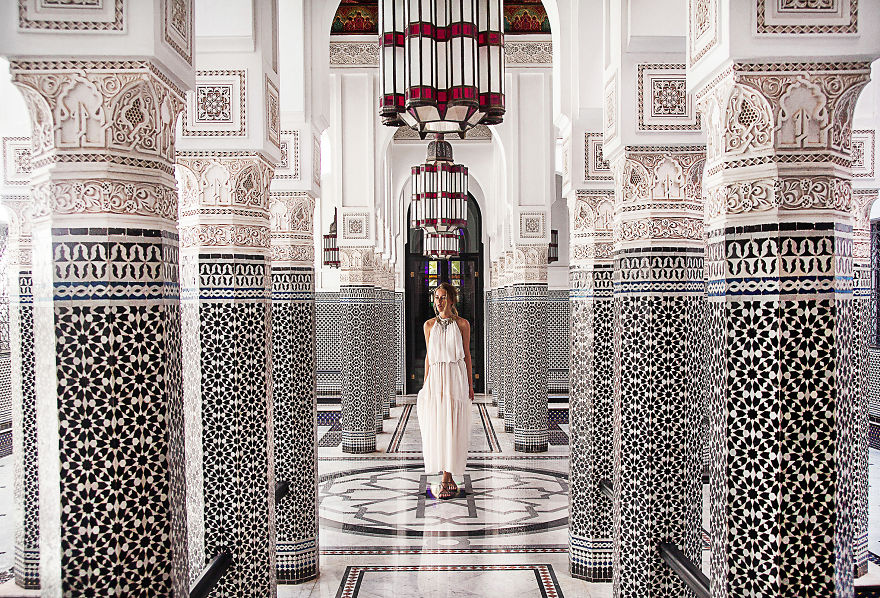 Marrakech, Morocco. Mamounia Hotel Strikes Again With Their Beautiful Architecture