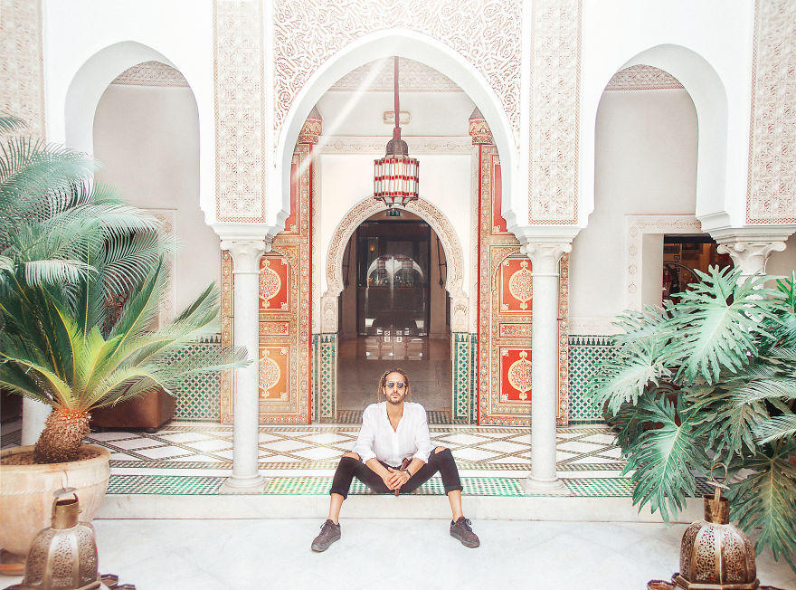 Marrakech, Morocco. One Of The Most Beautiful Hotels I've Ever Been - Mamounia. You Really Get To Feel Like A Sultan!