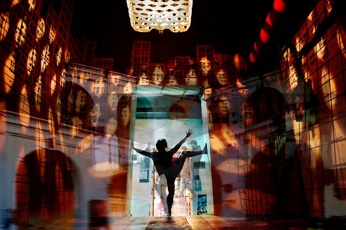 Surrealist Dancers In Madrid