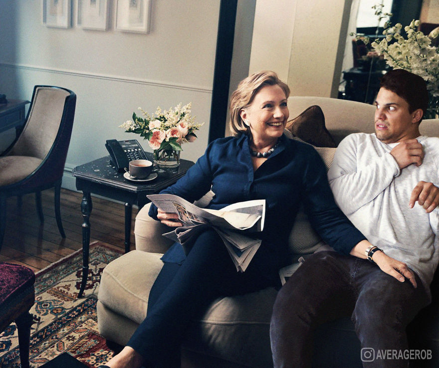 Hillary Once Came To Visit... Things Got Really Awkward...
