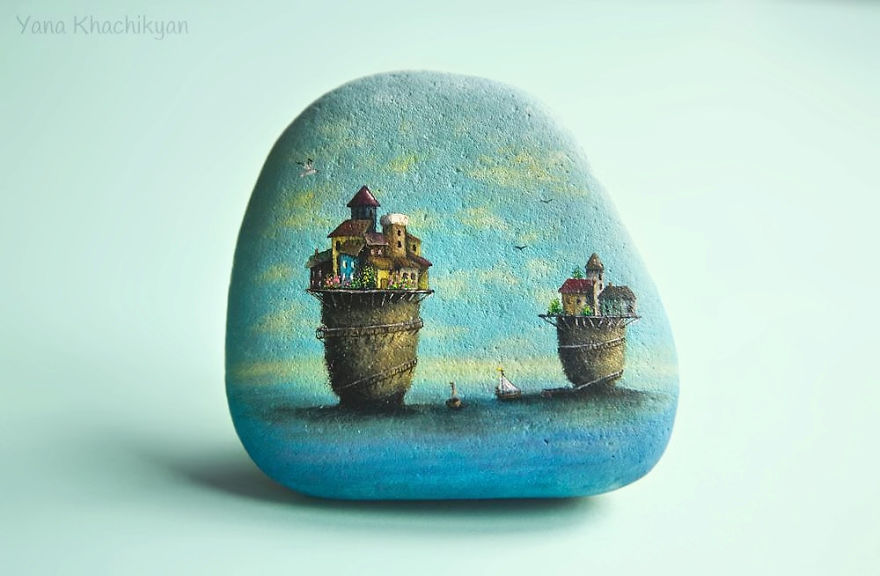 Paintings On Stones