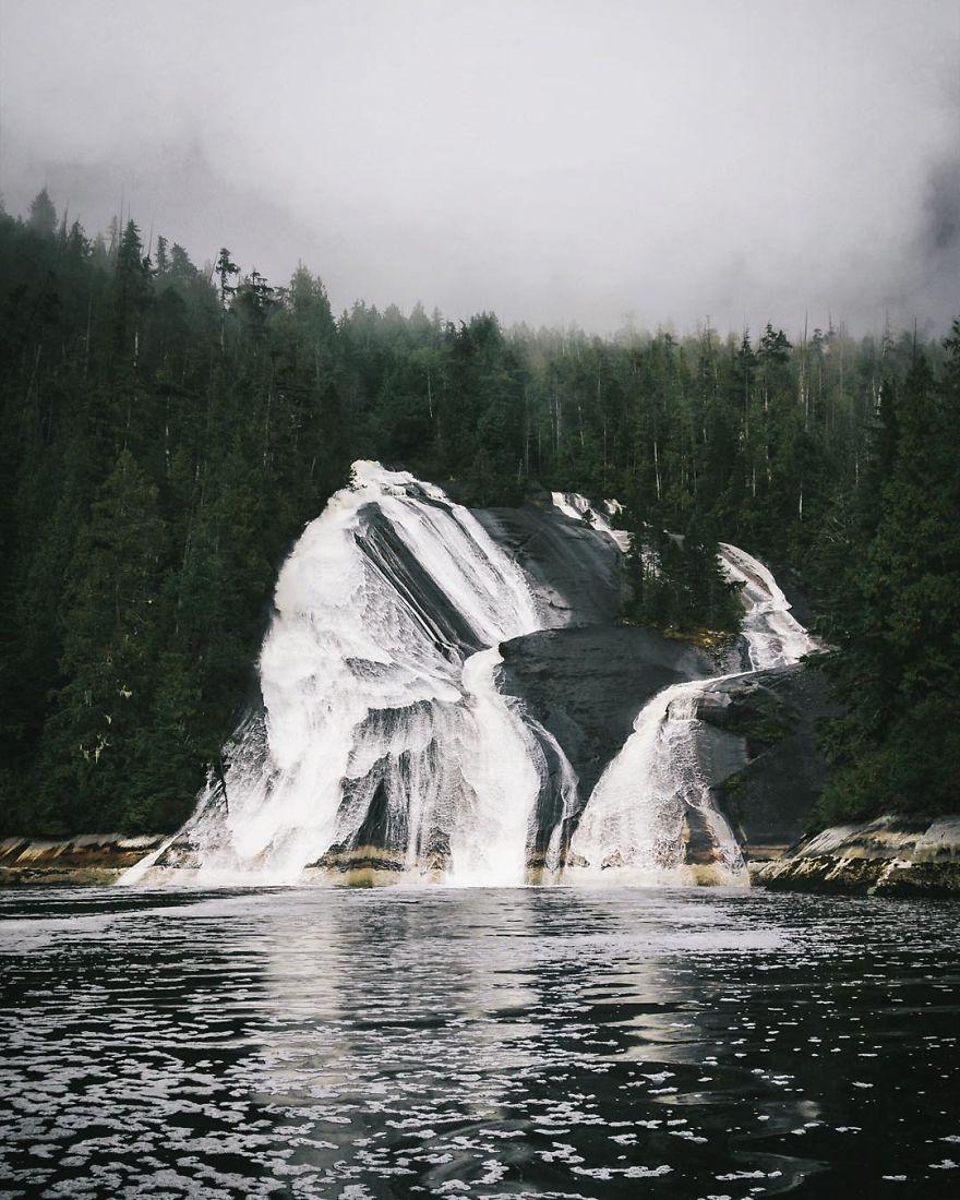 Thompson Sound, British Columbia, Canada