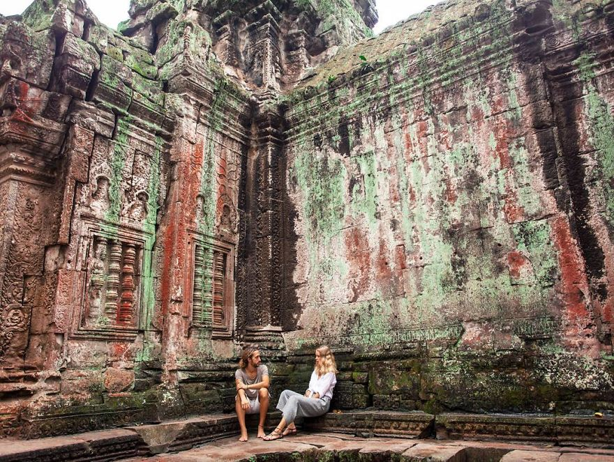 Wandering Around 9th Century Temples