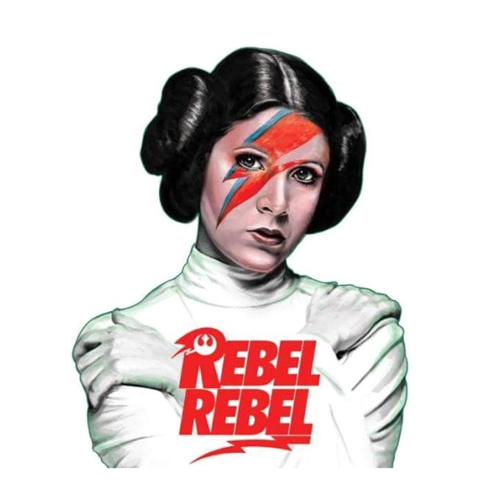 Rebel Rebel Leia By Oh Kole