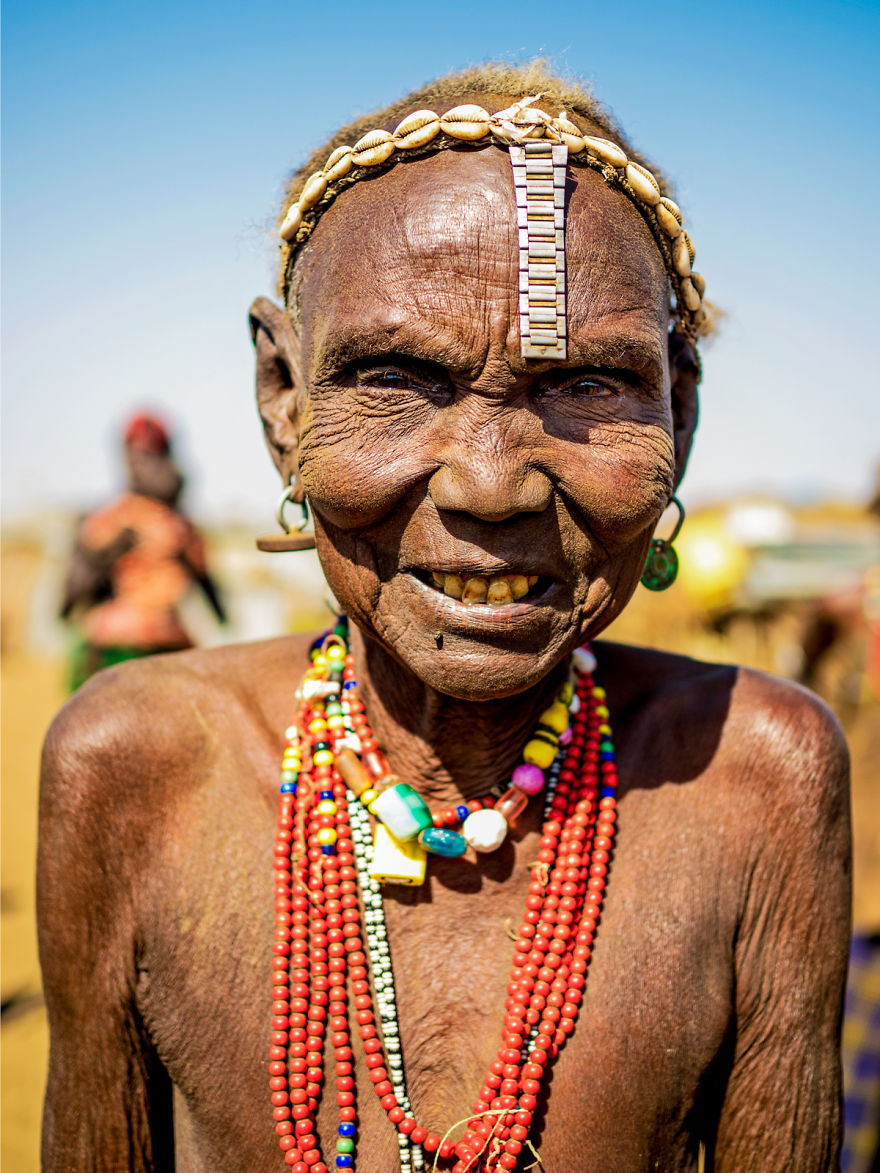 Woman From The Dassanech Tribe